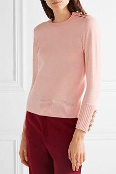Pastel-pink cashmere Slips on 100% cashmere Specialist clean Designer color: Blossom