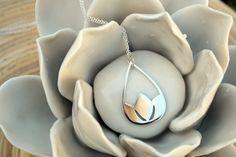 Lotus Pendant Flower Necklace