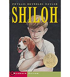 """Shiloh by Phyllis Reynolds Naylor. (Newbery Award) Or any of the """"Shiloh"""" books. Literature Circles, Children's Literature, Teaching Literature, Pretty Little Liars, Shiloh Book, Good Books, Books To Read, Book Report Projects, Group Projects"""