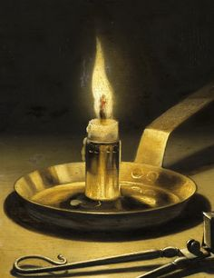 Pieter Claesz - Still Life with Lighted Candle