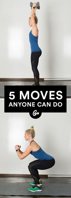 The 5 Moves Everyone Should Be Able to Do and What It Means If You Can't #fitness #workout http://greatist.com/move/moves-anyone-can-do