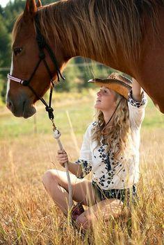 Senior Pictures w/horse