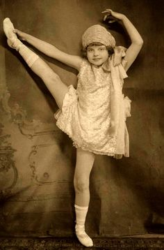 A Tiny Vaudeville Dancer c.1924