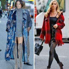 Os estilos lindos e inspiradores, de outono, das angels Alessandra Ambrósio e Elsa Hosk.💖 #alessandraambrosio #elsahosk #creative #fashionstyles #fallwinter #inspirations