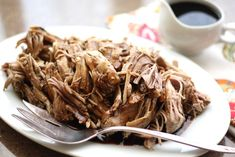 Barefeet In The Kitchen: Crock-Pot Brown Sugar and Balsamic Pork Roast