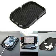 Universal Car Dashboard Silicone Rubber Anti-slip Phone Holder
