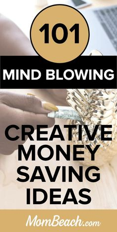You wont' believe these 101 mind blowing creative ways to save money. Whether you DIY by using a savings jar at home, these fun ways are sure to help you gain extra cash. You can achieve debt payoff and do frugal living with ease. These personal finance tips will help you achieve finance freedom at last with great money saving ideas. #creativewaystosavemoney #diycreativewaystosavemoney #creativewaystosavemoneyathome #moneysavingtips #savemoney #extracash #funmovingsavingtips
