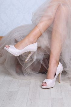 Celia is a peep toe bridal shoe overlaid in delicate lace with a high heel & a luxury leather lining. Bridal Shoes, Wedding Shoes, Dream Wedding, Zapatos Peep Toe, High Heels, Shoes Heels, Mother Of The Bride, Bridesmaid, Elegant