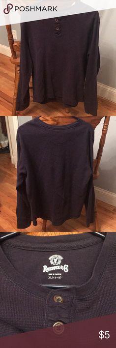 Men's thermal shirt Men's navy blue thermal shirt (Brand- Roebuck & Co.) & Other Stories Shirts
