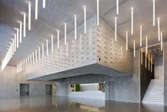 Rex Architect's Vertical Floresent Tube Ceiling