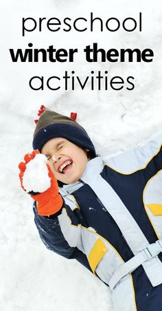 As temperatures drop it can be fun to explore winter with your preschoolers. Find all you need to plan your preschool winter theme activities here. Preschool At Home, Preschool Themes, Preschool Winter, Preschool Classroom, Toddler Preschool, Classroom Activities, Preschool Rules, Teach Preschool, Educational Activities