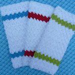20+ Free Dishcloth Patterns: {Crochet}