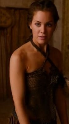 """Doreah is a recurring character in the first and second seasons. She is played by guest star Roxanne McKee and debuts in the """"The Kingsroad"""". Doreah is a handmaiden of Daenerys Targaryen and a former bedslave. Doreah was a bedslave in one of the """"pleasure houses"""" of the Free City of Lys. She was later bought by Illyrio Mopatis and moved to his mansion in the city of Pentos."""