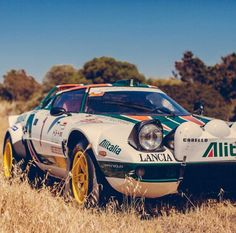 Just Because: This Lancia Stratos Is The King Of Tuscany. Via Petrolicious. Royce Car, Automobile, Sports Car Racing, Auto Racing, Rally Car, Car And Driver, Courses, Hot Cars, Exotic Cars