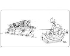 La Caricatura de #Bonil del 31 de enero del 2014. Más #caricaturas en: www.eluniverso.com/caricaturas