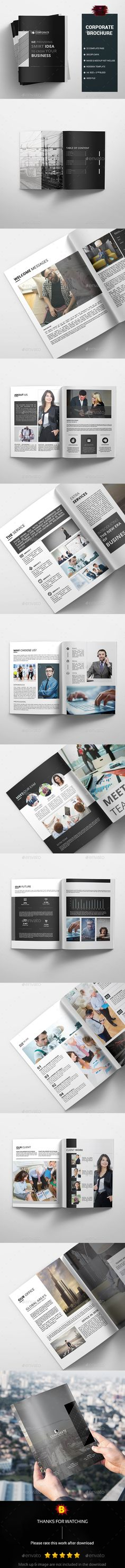 Brochure  — InDesign Template • Only available here ➝…