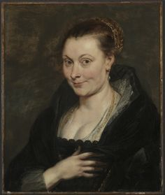 Rubens - Portrait of Isabella Brant (1620-25); Cleveland Museum of Art