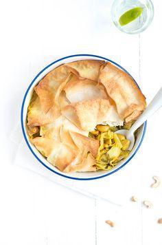 thai chicken pot pie