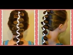 French (Dutch) Loony Ribbon Braid, Cute Hairstyles, Hair4MyPrincess