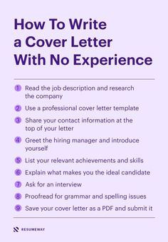Writing the perfect cover letter is a challenge even for seasoned professionals. But when you are writing a cover letter with no experience, the stakes are even higher. #coverletter #coverlletternoexperience Perfect Cover Letter, Best Cover Letter, Cover Letter Design, Writing A Cover Letter, Cover Letter Example, Letter Templates, Resume Templates, Effective Cover Letter, Professional Cover Letter Template