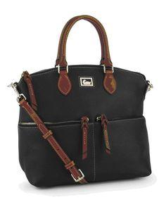 Dooney & Bourke Dillen Leather Double Pocket Bag
