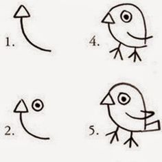 Small bird of easy drawings make on paper Teen Wall Art, Picture Of Doctor, Coral Background, Pineapple Images, Craft Videos, Vector Design, Easy Drawings, Pet Birds, Painted Rocks
