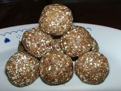 Healthy Life Lessons: Gingerbread Cookie Dough Balls