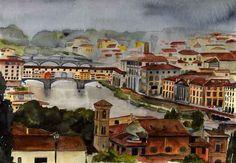River Arno - Florence - Enlargement
