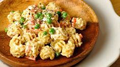 Wont you try this easy Creamy Ranch Pasta Salad? Vegan option in recipe. Enjoy SUMMER!