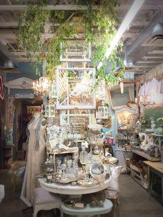 Aquamarina Antiques at Sweet Salvage on 7th Ave Phoenix, AZ. August 2014 Trilogy