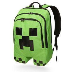 Minecraft Creeper Backpack must have for school