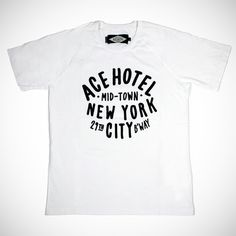 College Tee // shop.acehotel.com