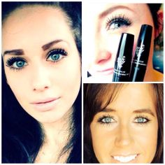 Like a push-up bra for your lashes!  Younique's 3D Fiber Lashes!