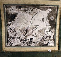 Hogre - Italian Street Artist - Shit Art Fair2 - Torino (IT) - 11/2014 - |\*/| #hogre #streetart