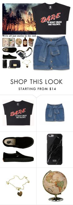 """""""Play Hard"""" by aguniaaa ❤ liked on Polyvore featuring Forever 21, DKNY, Eos, Vans, Native Union, Roberto Coin, Del Toro, MICHAEL Michael Kors and Denimondenim"""