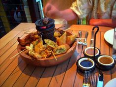 hawaiian pupu platter - Google Search