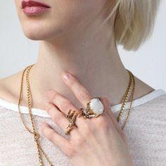 Moonstone - Delusions of Grandeur - Tessa Metcalfe Jewellery - THE POMMIER - 3
