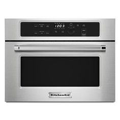 "KitchenAid 24"" Built-In Microwave - Stainless Steel"