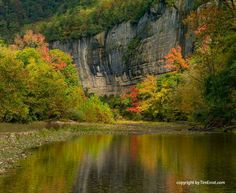 Buffalo River in Arkansas. Photo by Tim Ernst