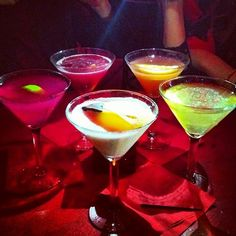 Martini Buffet at Red Square Las Vegas...haven't been here last few trips...must go!!!