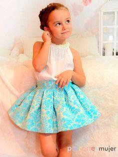 Halter neck blouseMidi Skirt Set for baby babies toddler image 4 Cute Girl Dresses, Toddler Girl Dresses, Little Girl Dresses, Flower Girl Dresses, Kids Dress Wear, Kids Wear, Baby Dress, Ruffle Dress, Toddler Fashion
