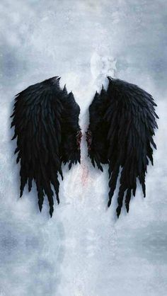 the sticker shop Decorative Decals Furniture & DIY Fallen Angel Wings, Lucifer Wings, Angel Wings Wall, Evil Angel, Angel And Devil, Iphone Background Images, Wallpaper Backgrounds, Ange Demon, Black Wallpaper