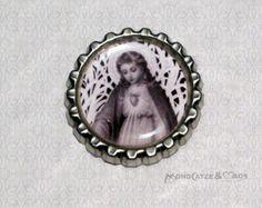 -f029d- Kronkorken Magnet, VINTAGE MARY 4, € 2,80 , bottlecap von Mondcatze´s Zauberwerkstatt auf http://de.dawanda.com/shop/Mondcatze
