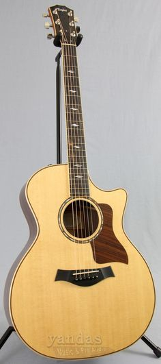 Taylor's Top Acoustic The ever popular 814ce from Taylor's 800 Series is truly an all purpose guitar. The series' revoicing has given more warmth, a fuller midrange, and a great low end, making it sui