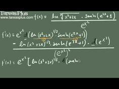 Derivación de funciones complejas ejemplo 2