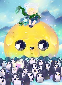 Adventure Time: GUNTERS by Suguri.deviantart.com on @deviantART