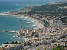 Sitges. El Garraf, Catalonia