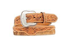 Men's Belt | Nocona Brown Leather & Cow Hide Leather Belts, Cowhide Leather, Brown Leather, Men's Belts, Cow Hide, Accessories, Fashion, Moda, Fashion Styles