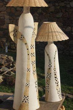 klikni pro další 30/114 Ceramic Lamps, Ceramic Light, Paper Lamps, Vases, Ceramics, Lights, Home Decor, Art, Ceramica