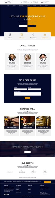 Prolaw is a clean and modern design 4in1 #HTML5 bootstrap template for law #firm, attorneys, #lawyers professional website download now➩  https://themeforest.net/item/prolaw-legal-law-firm-attorney-bootstrap-html-templates/19409359?ref=Datasata